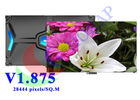 Energy Saving Video HD LED Display Rental 1.875mm High Refresh Rate Black SMD 1010