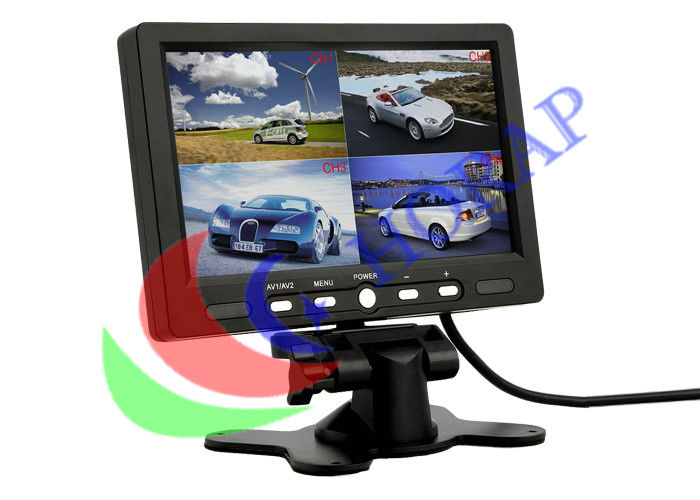 Widescreen  BNC Surveillance LCD CCTV Monitor  Open Frame 7 Inch High Brightness