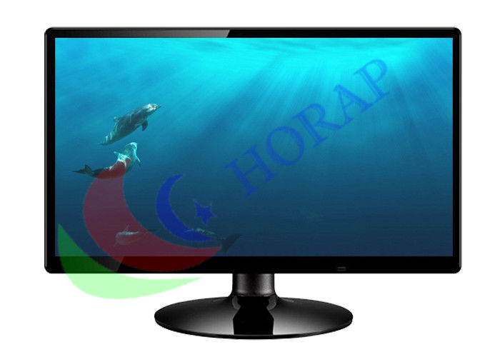 Widescreen 18.5 Inch Cctv Monitor Screen , 16 X 9 Surveillance Cctv Video Monitor